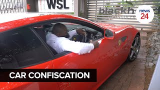 WATCH   Businessman Edwin Sodi's luxury cars seized in Bryanston by AFU
