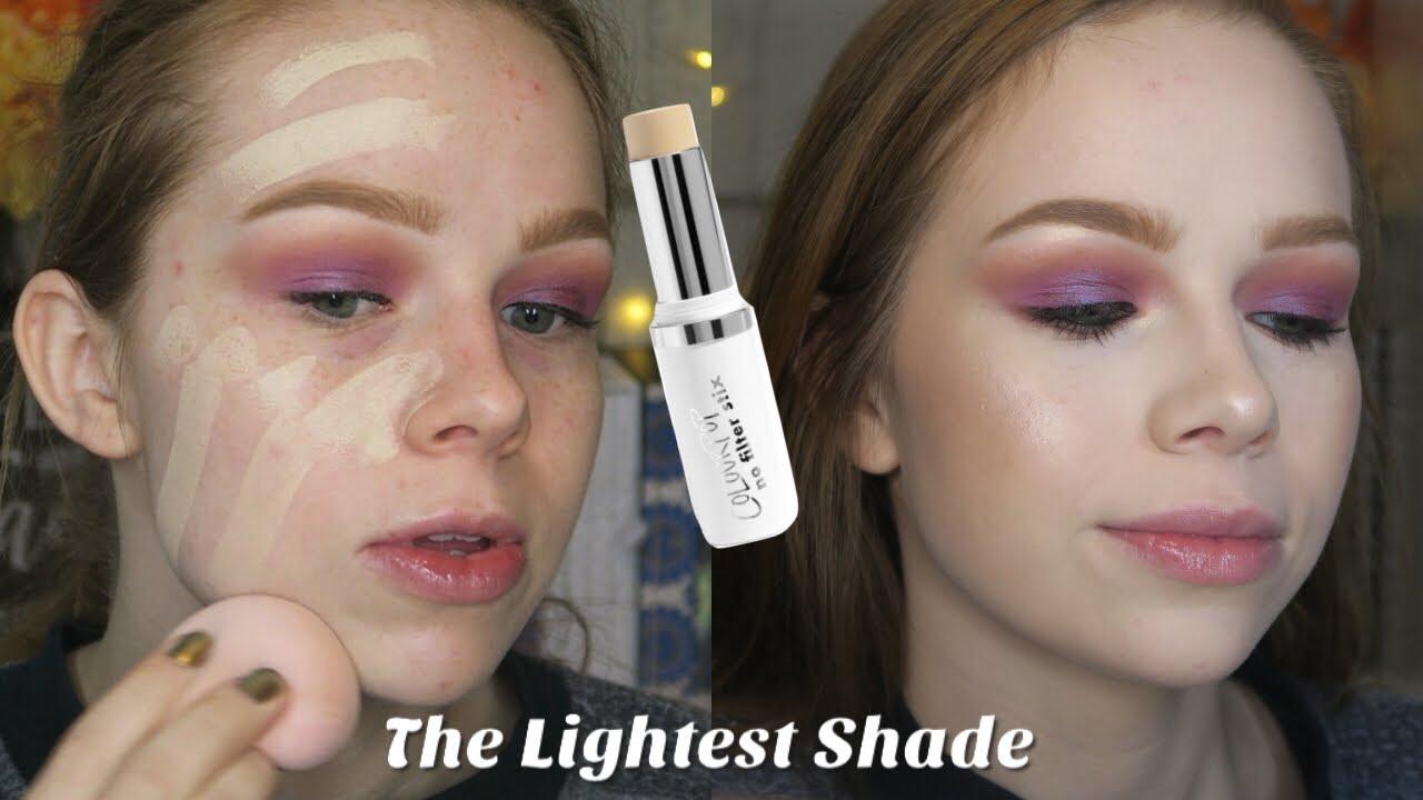 19a69280395 Colourpop No Filter Stix Foundation | The Lightest Shade - YouTube