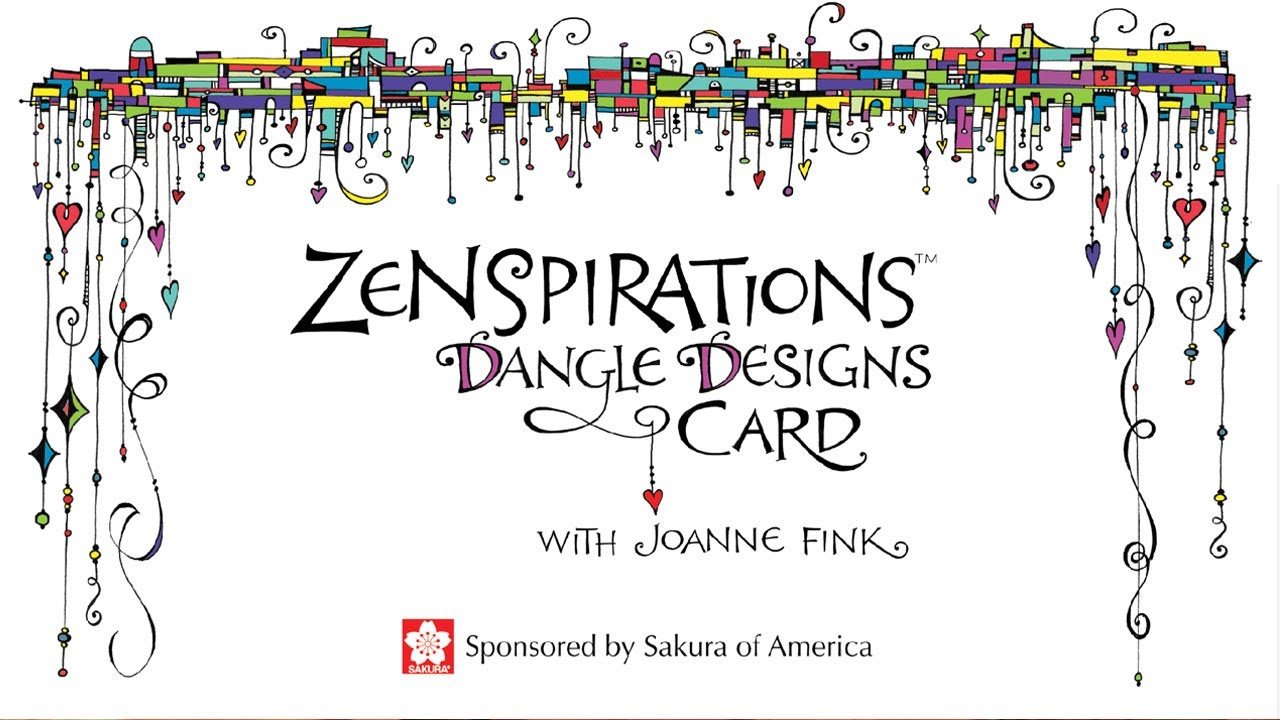 Zenspirations Dangle Designs For Lettering And Handmade Cards