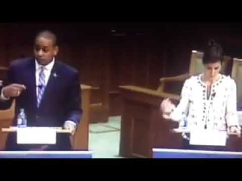 Jill Vogel gets triggered debating Justin Fairfax