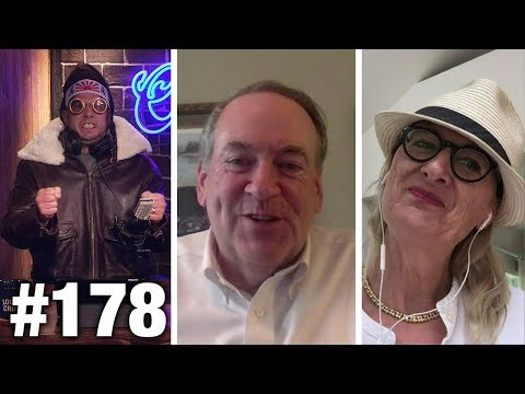 #178 TRUMP PULLS OUT! Gov. Mike Huckabee and Ann McElhinney Guest   Louder With Crowder