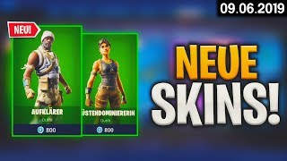 FORTNITE SHOP from 9.6 - 😍 New Skins! 🛒 Fortnite Daily Item Shop of today (09 June 2019) | Detu