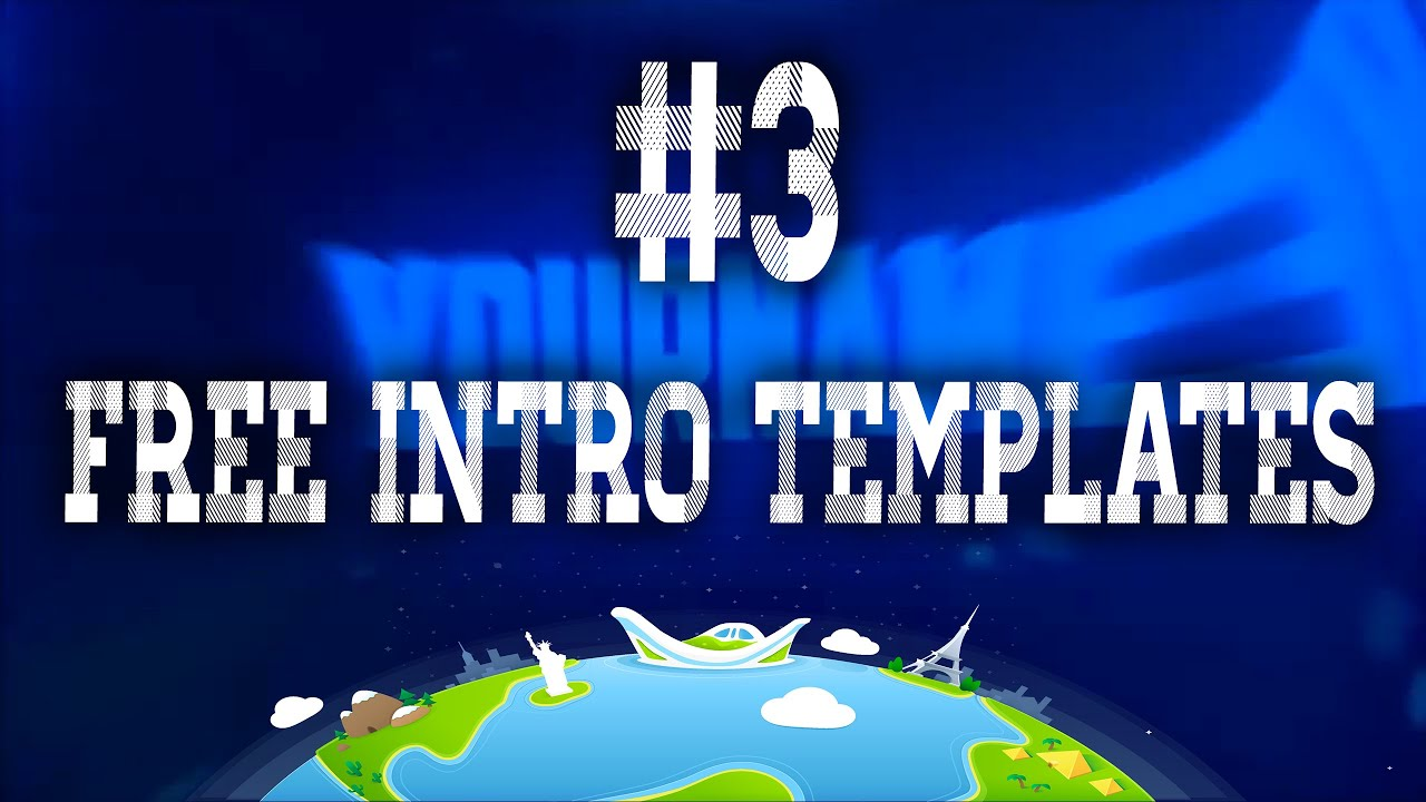 Free intro template cinema 4d after effects youtube for Free intro templates for youtube