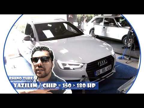 AUDI 1.4 TFSI CHIP TUNNING - 150 HP TO 180 HP