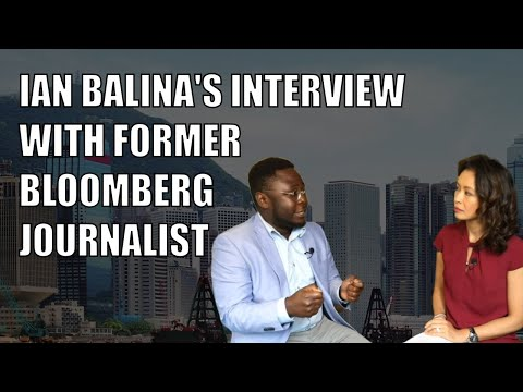 Ian Balinas Interview With Bloomberg Journalist in Hong Kong