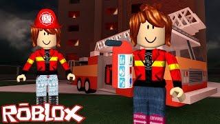 Roblox - BOMBEIRAS EM AÇÃO (Firefighters)