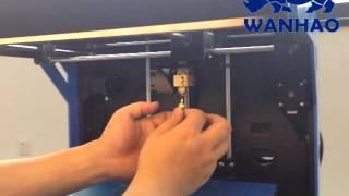 Wanhao D5 Nozzle Jam repairing