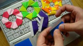 Repeat youtube video ユニット折り紙part2 modular origami