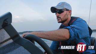 Ranger RT178 On Water Footage