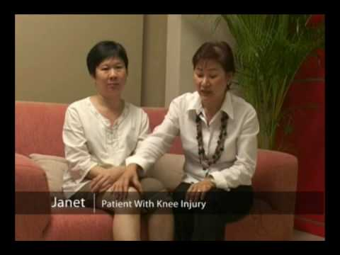 Knee Injury Patient, Janet with Medical Qigong Treatment (Wellness Medical Qigong)
