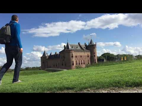 Visiting a Real Dutch Castle! Muiderslot in Amsterdam Vlog!