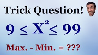 Trick Question - Test your math skills