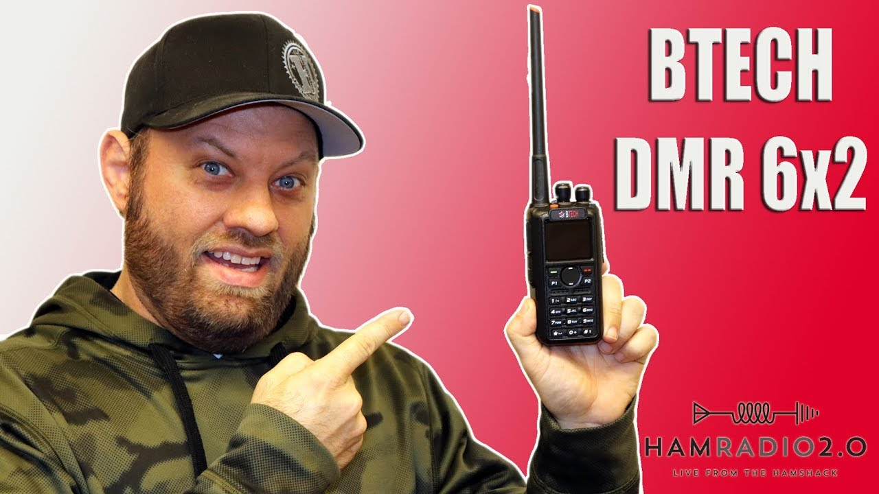 BTECH DMR-6x2 and Anytone AT-D868UV, Side by Side