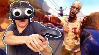 ZOMBIE SURVIVAL IN VIRTUAL REALITY | Arizona Sunshine VR (HTC Vive Gameplay)