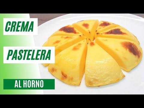 Crema Pastelera al Horno | Postre Sencillo y Delicioso #93