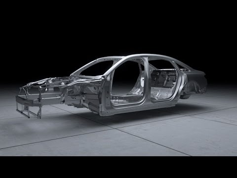 2018 Audi A8 Space Frame, aluminum, steel, magnesium and carbon fiber-reinforced polymer (CFRP) mix