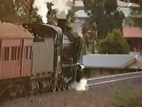 Steam in the Macedon ranges and northern Victoria.