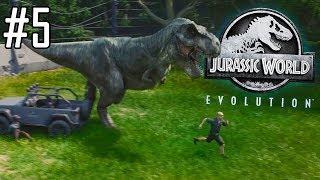 Jurassic World Evolution #5 - On sépare les rebelles carnivores