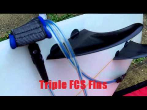 Custom 7 2 Hawaiian Soul Surfboard And Bag Fleet Uk Youtube