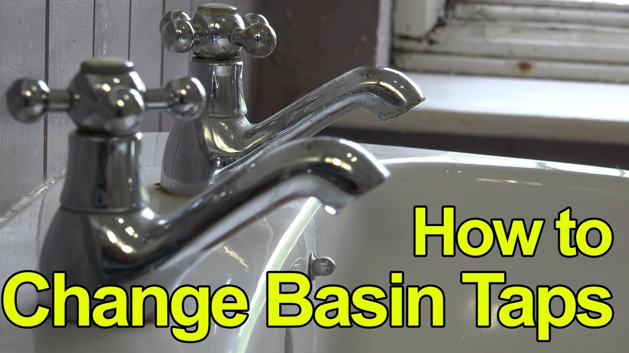 HOW TO REPLACE OR FIT BASIN TAPS - LEVER TAPS - Plumbing Tips - YouTube