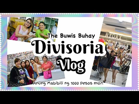Buwis Buhay Divisoria Shopping Vlog: P1000Challenge (Divisoria Dress, Shoes, Bag & Accesories Haul)