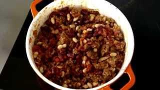 Easy Turkey Two Bean Chili Recipe