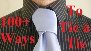 HOW TO TIE A TIE Christensen knot aka Cross Knot for Your Necktie
