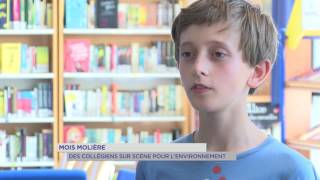 Mois Molière : Des collégiens sur la scène pour l'environnement