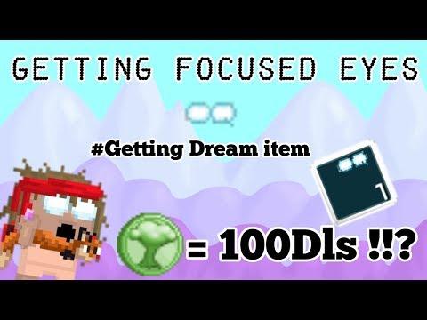 Getting Focused Eyes ! *DREAM ITEM*  Growtopia