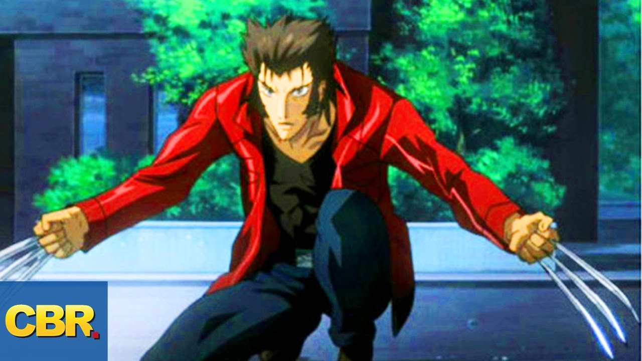 Anime Characters Vs Superheroes : Wolverine anime times superheroes were ruined by