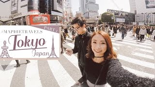 MUST VISIT PLACES IN TOKYO [Part I] | Couple Travel Vlog | Sophie Ramos & Martin Qui