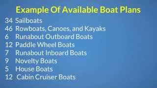 Wooden Boat Plans Online For Row Boats, Jon Boats, Sail Boats, Fishing Boats, Kayaks & Duck Boats