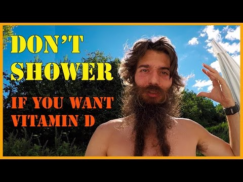 HOW WE GET VITAMIN D AND WHY YOU SHOULD NOT SHOWER AFTER SUN EXPOSURE