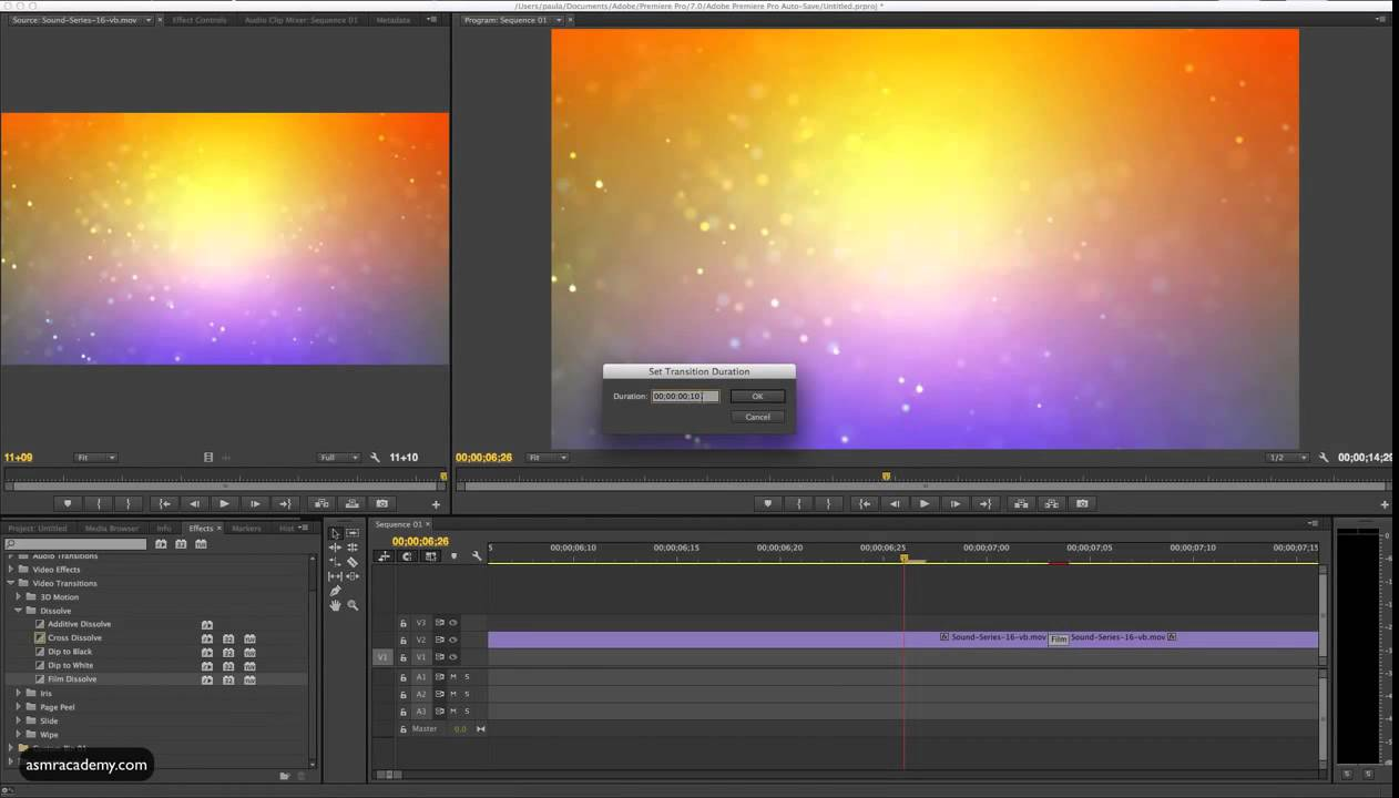Premiere Pro Tutorial How to Seamlessly Loop a Video in Premiere Pro