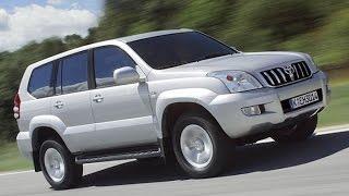 Тест драйв Toyota Land Cruiser Prado 120 (обзор)