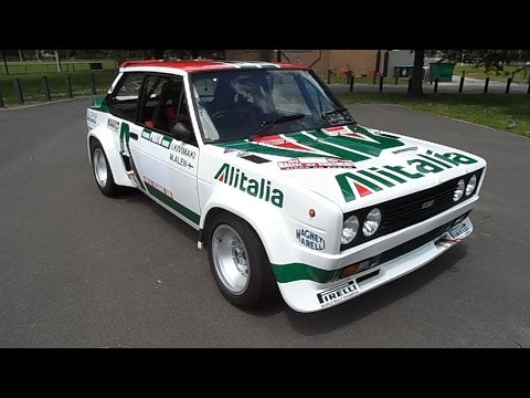 Fiat 131 Abarth Group 4 Rally