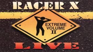 Band: Racer X Album: Extreme Volume Live II Label: Shrapnel Records...