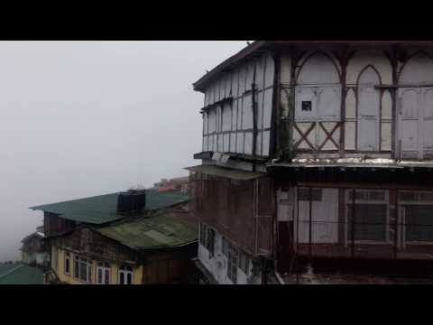 Shimla - View From Mall Road