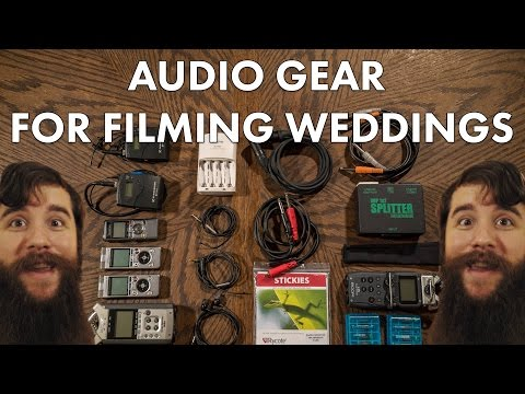 How To Record Amazing Audio In Your Wedding Films!