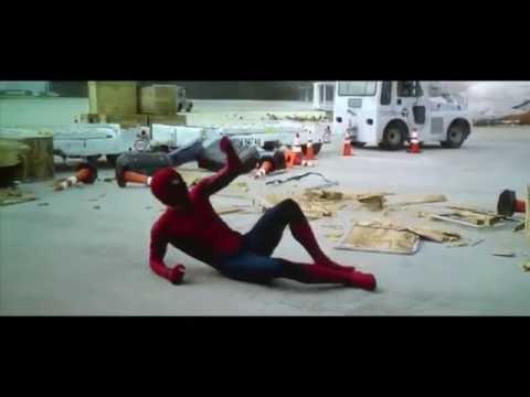 Captain America  Civil War Spiderman FIGHT SCENES