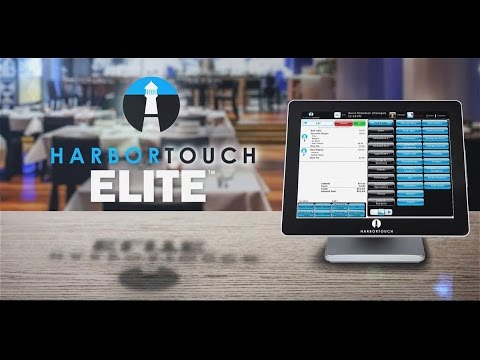 Harbortouch Bar And Restaurant Elite Pos System For The