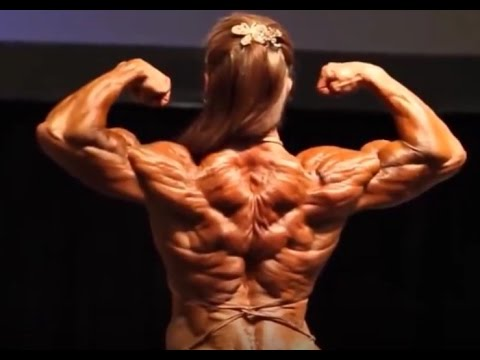 The Most Shredded Female Bodybuilder Ever ??