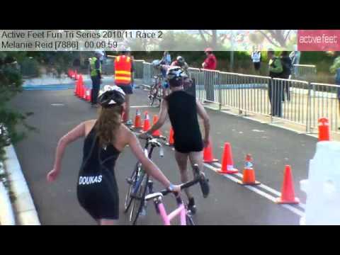 Melanie Reid 7886 Active Feet Fun Tri Series 2010 11 Race 2