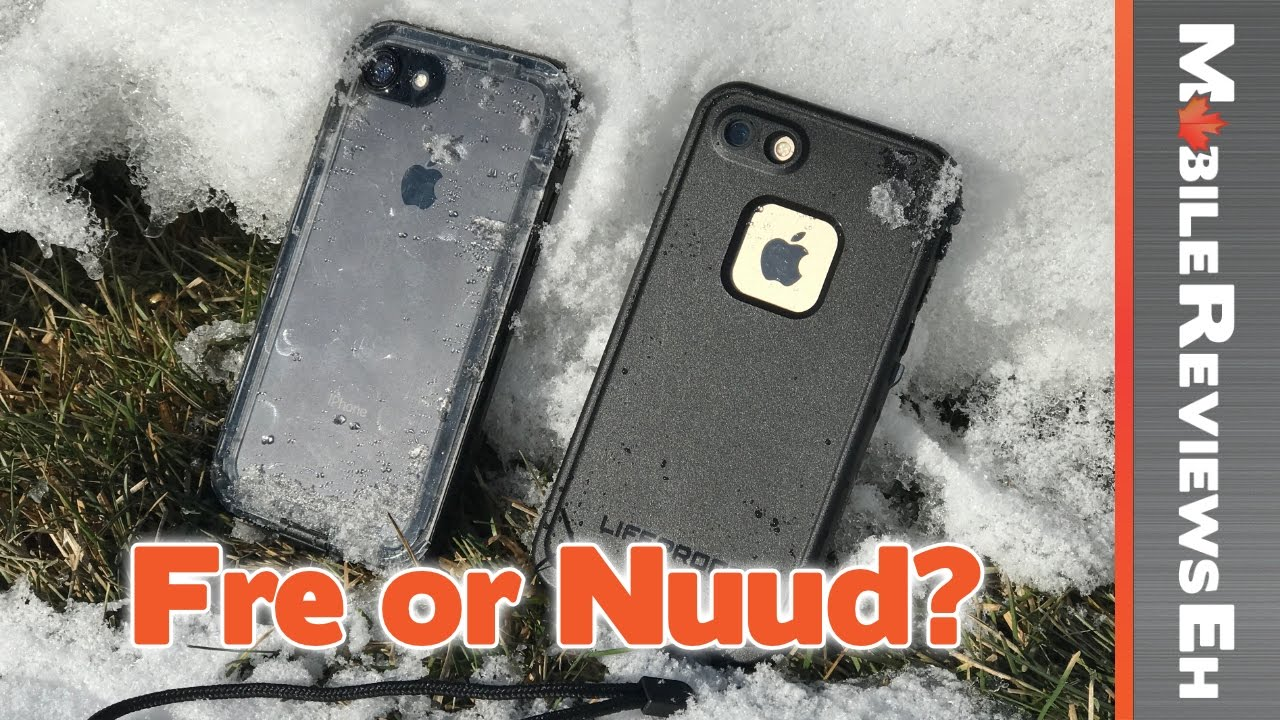 save off cfabe a0082 Battle of the waterproof cases! LifeProof Fre vs. LifeProof Nuud –  Waterproof iPhone 7 Case Comparison