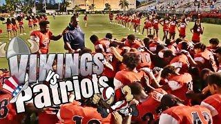 Miami Norland Vikings vs American High Patriots | High School  football highlights