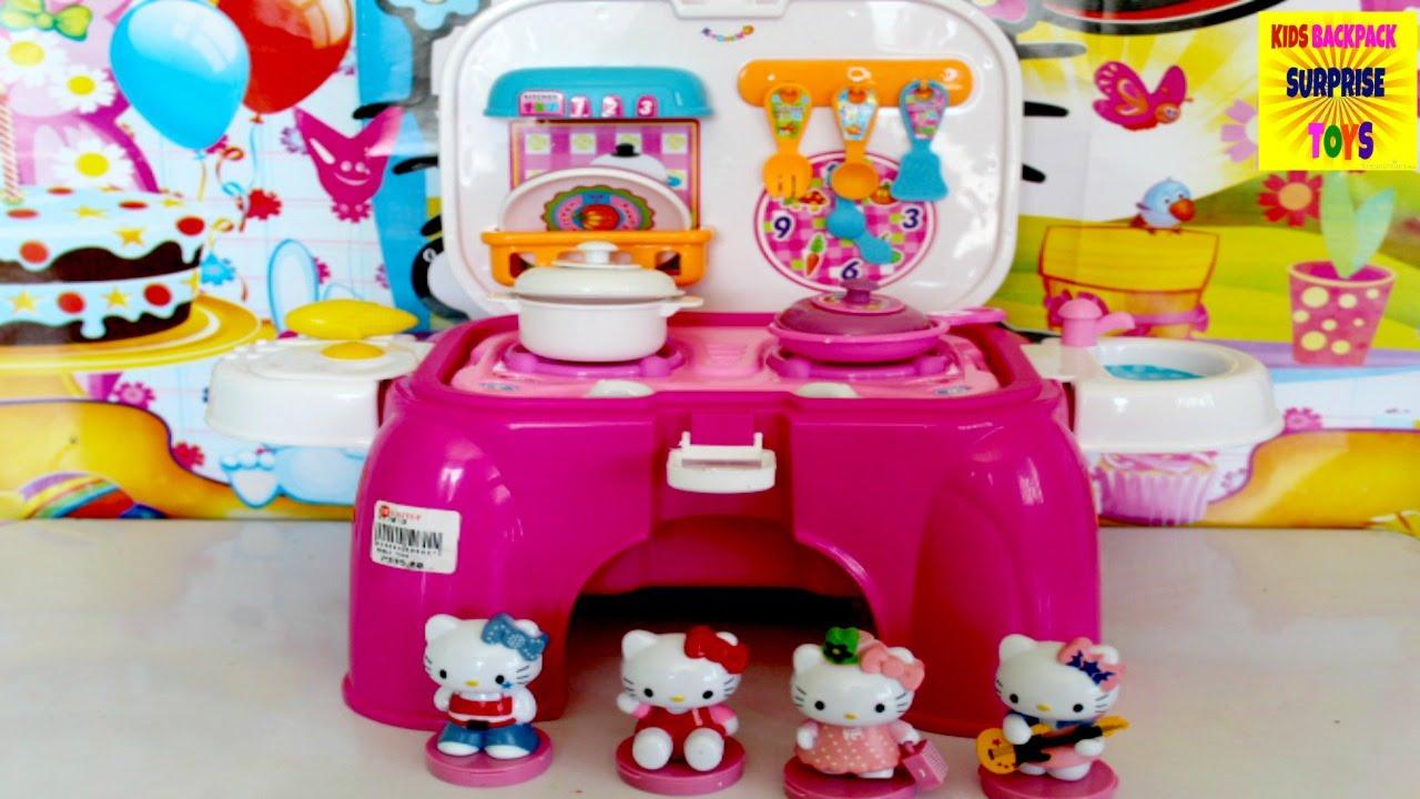 hello kitty awesome kitchen chair playset hello kitty video toys i