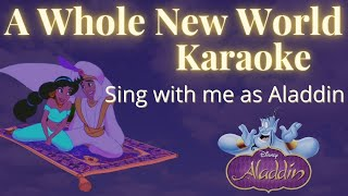 A Whole New World (female part only) Sing with me - from Aladdin