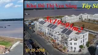 01.09.2018 tiến độ Tây Sông Hậu Diamond City long Xuyên An Giang 0911119131