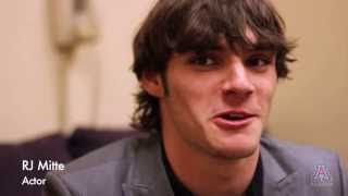 RJ Mitte of Breaking Bad at the UA