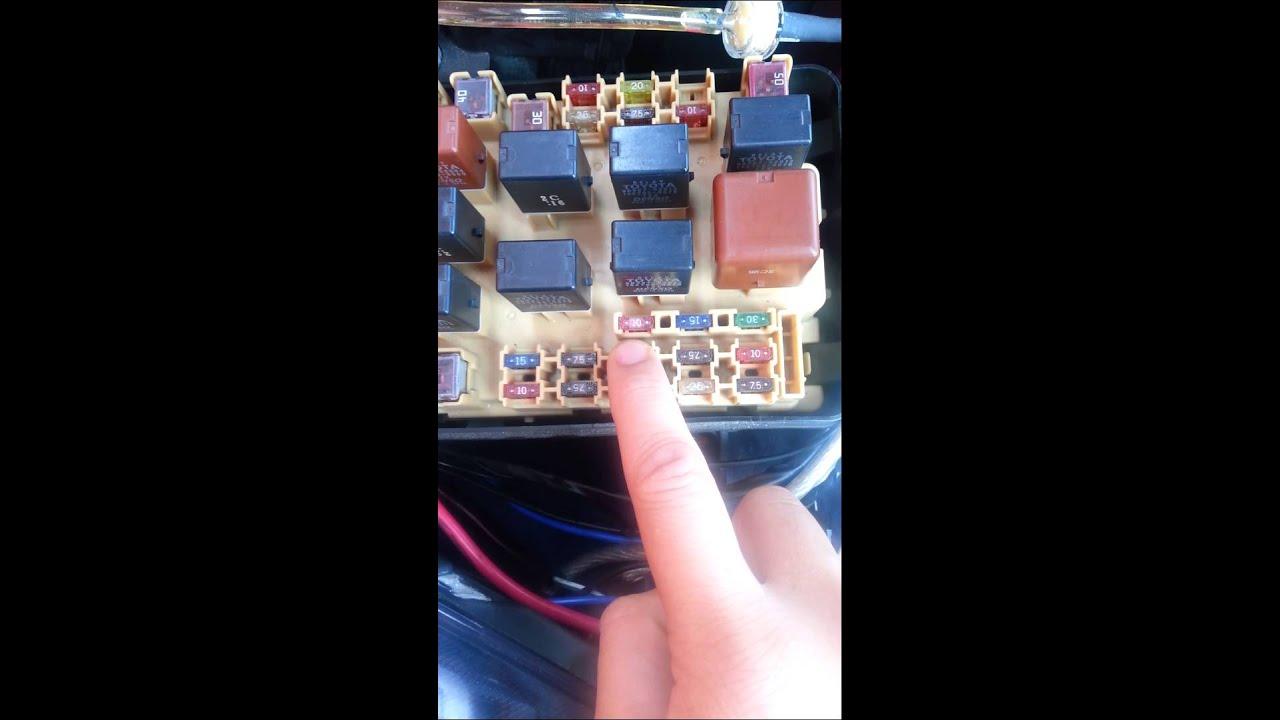 toyota celica gt s fuel pump relay n fuses [ 1280 x 720 Pixel ]